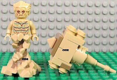 Lego 76114 Spider-man's Spider Crawler minifig SANDMAN w/ Sand Mallet minifigure