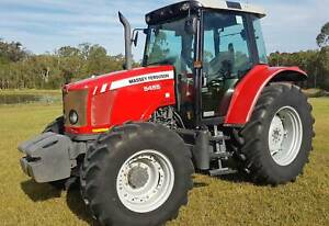 2013 Massey Ferguson 5455 4WD Tractor One Owner 105hp