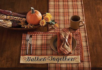 Placemat - Gather Together Border by Park Designs - Fall Autumn Thanksgiving