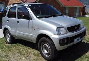 2003 Daihatsu Terios Wagon New Norfolk Derwent Valley Preview