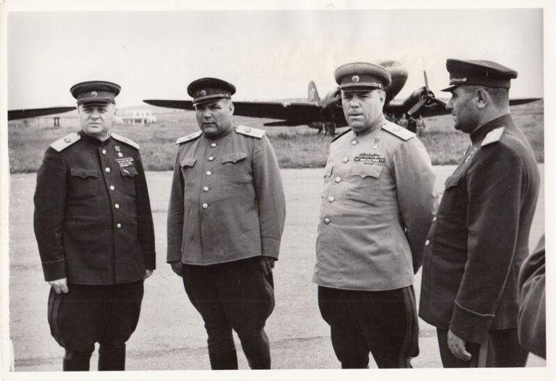 RUSSIAN ARMY MARSHALS ~ NOVOSTI NEWS AGENCY PHOTO-1945