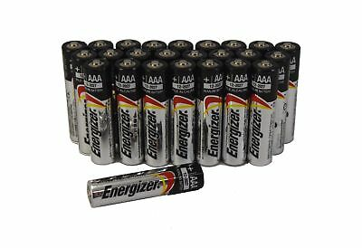 (25 Pack) Energizer AAA E92 Alkaline Batteries Exp. 12/2027 Bulk Packaging