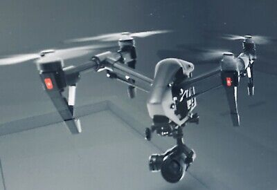 DJI Fortify 1 Professional Black Edition Quadcopter Drone with X5 Zenmuse 4K UDH
