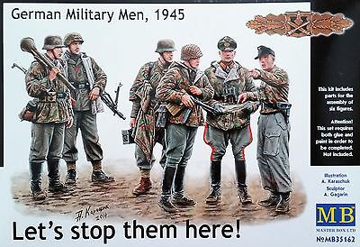MASTER BOX™ 35162 German Military Men 1945 FIGUREN in 1:35