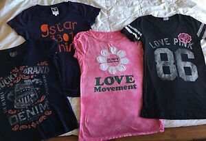 Lucky Brand, G Star, Juicy Couture, Pink tshirts