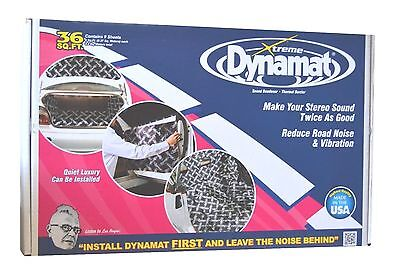 "Dynamat Xtreme 10455 Nine 18"" x 32"" Pcs Bulk Pak Sound Dampening 36 Sq. Ft."