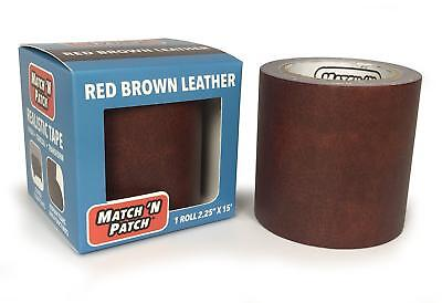 Match 'N Patch Realistic Red Brown Leather Repair Tape (Leather Tape)