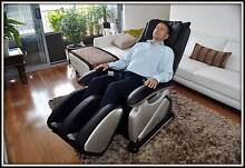 Massage Chair Zero Gravity Tan/Black $1400 END OF STOCK SALE Surry Hills Inner Sydney Preview