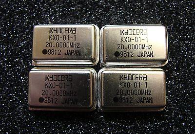 Mg Kyocera Oscillator 20mhz Kxo-01-1-20.0000m Dip-14 Qty.4
