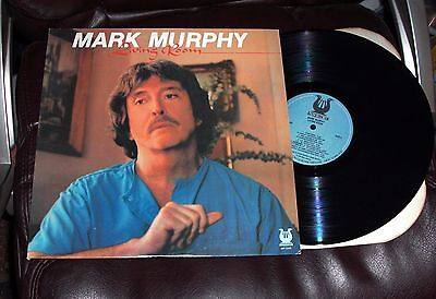 MARK MURPHY Living Room NM 1986 Muse LP Grady Tate TED CURSON David Braham