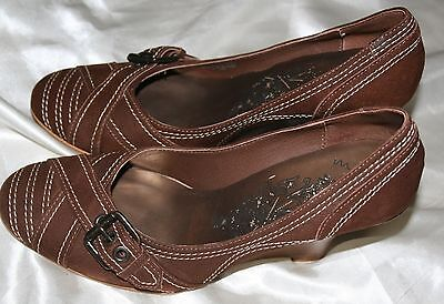 Matisse 6.5 M Womens Brown Suede Leather Shoes 3.5