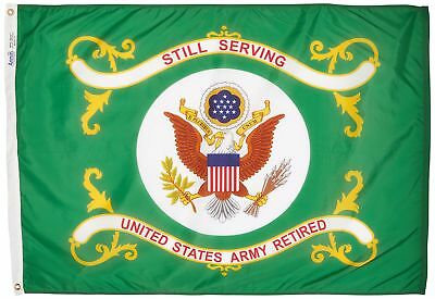 armed forces flag us army retired 3