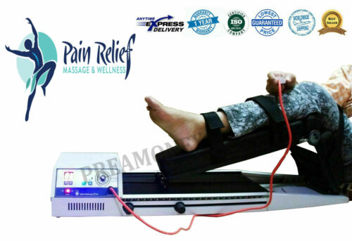 CPM (Continuous Passive Motion) CE Machine Knee Pain Tissue Healing Therapy