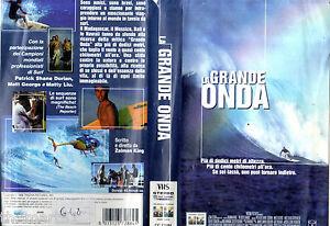 La grande Onda (1999) VHS Columbia 1a Ed. - Italia - L'oggetto può essere restituito - Italia