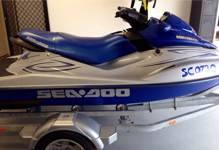 Low Hour! FAST Immaculate SEADOO Muscle Craft Carbi RX Heritage Park Logan Area Preview
