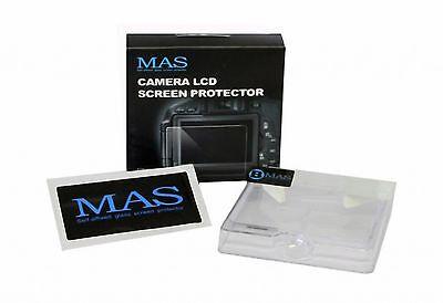Protezione Display Copri Monitor LCD cristallo MAS Screen Protector Nikon D3200 usato  Bologna