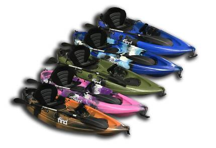Fishing Kayaks ONLY $349!! Includes Paddle, Seat, Rod Holder!!!