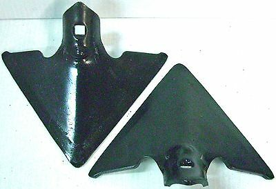 "Danish Sweep Single Hole 2 - 7"" 1/4"" Thick 7/16"" Square Hole Cultivator"
