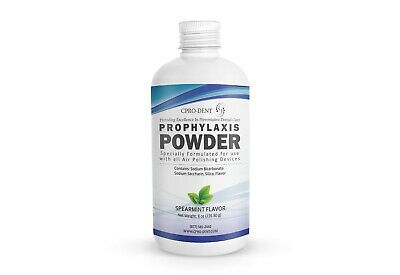 3 X 8 Oz Prophy Powder - Non Clogging For Use With All Air Polishing Devices