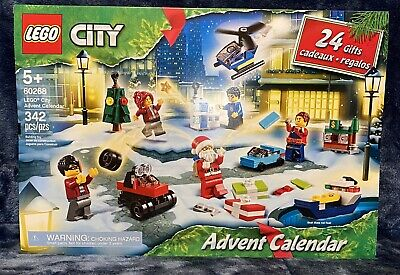 Brand New 2020 Lego City Advent Calendar!(60268) Limited Edition Sealed &In Hand