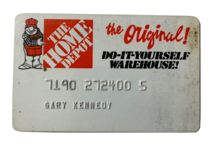 Vintage The Home Depot Credit Card
