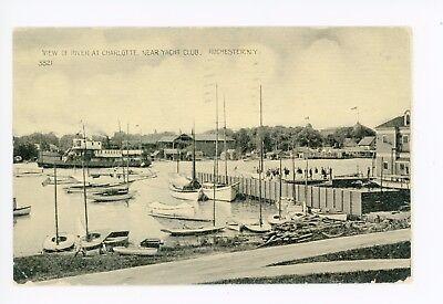 Charlotte NY Yacht Club—Rochester—Rare Antique Sailboats Chautauqua County