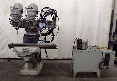 Bridgeport Dual Head Knee Mill True Trace Pattern Tracer Pu.47.1