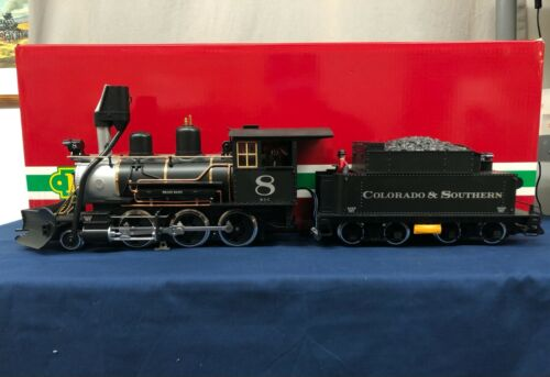 LGB Colorado & Southern #8 2-6-0 Mogul Steam Engine w/ DCC & Sound 23192