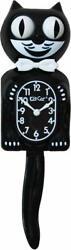 Kit Cat Klock Gentlemen Classic Black Cute Wall Clock