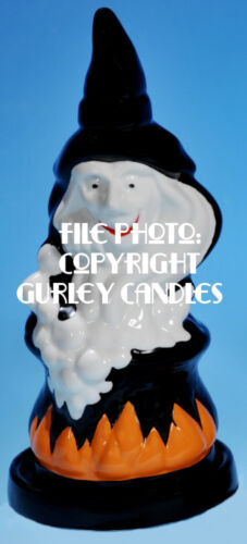 """Gurley  """"Saf-T-Glo""""  Candle Lamp - Witch"""