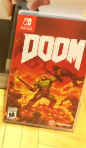 Trade DOOM Nintendo switch.