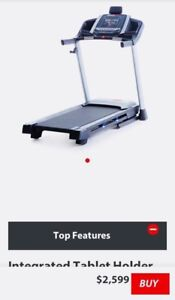 Excellent offer!! TREADMILL CONDITION NEW REAL PRICE 2599$