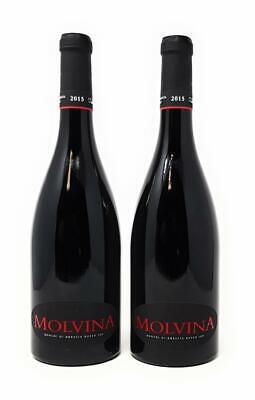 Molvina Ronchi di Brescia 2015 Rotwein trocken 2x 0,75 l  Alkohol 14,5% vol.