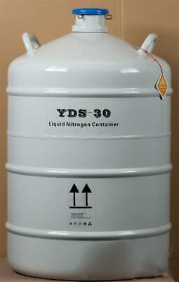 30l Cryogenic Container Liquid Nitrogen Ln2 Tank With Protective Sleeve