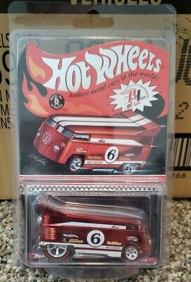 Hot Wheels Red Line Club Customized VW Drag Bus 2006