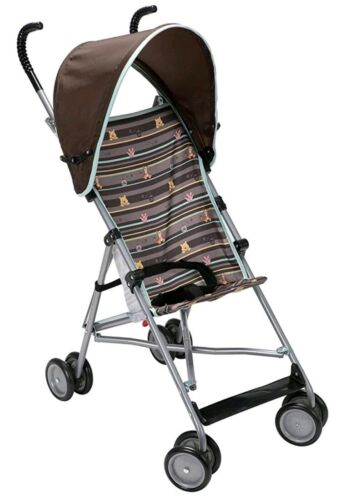 Disney Umbrella Stroller with Canopy in My Hunny Stripes Gre