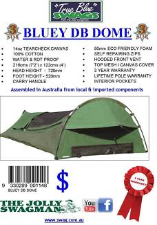 True Blue Bluey Double Dome Swag Golden Grove Tea Tree Gully Area Preview