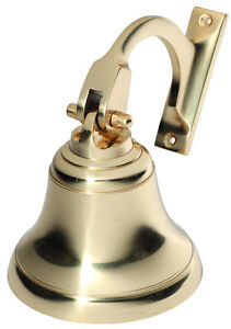 Ships Bell Solid Brass 100mm