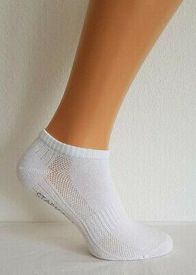 Hoch Damen-socken (6 Paar Sneaker Socken weiß hochwertig Premium Herren Damen Sport Freizeit 39-42)
