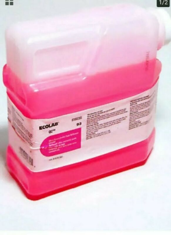 ECOLAB QC 93 6100295 ULTRA CONCENTRATED ACID BATHROOM CLEANER 1.3L BOTTLE