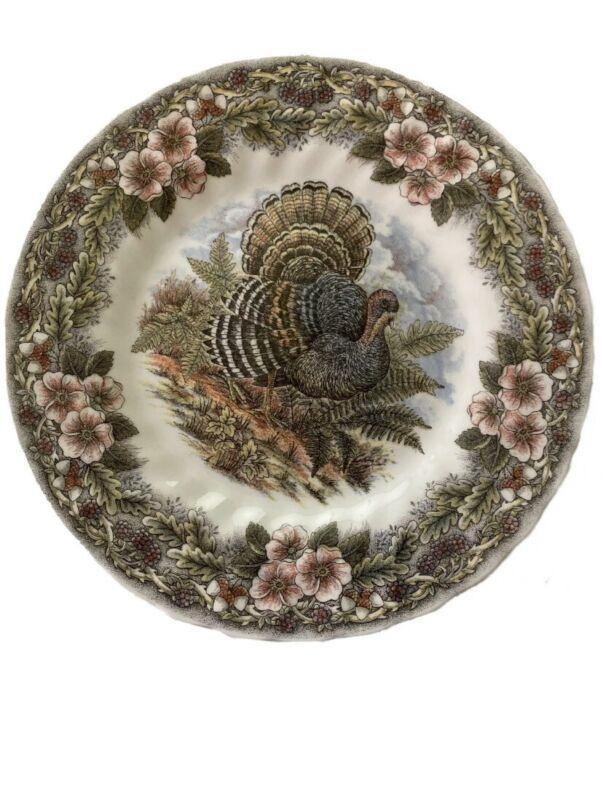 NEW Pack of 4 Myott Churchill Thanksgiving Plates