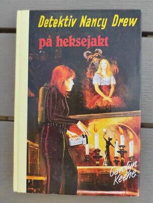 Vtg. Norwegian Nancy Drew Book - The Bluebeard Room - Carolyn Keene