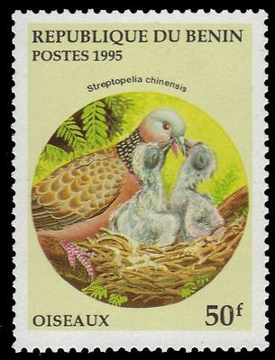 "BENIN 781 - Spotted Dove ""Streptopelia chinensis"" (pf11929)"
