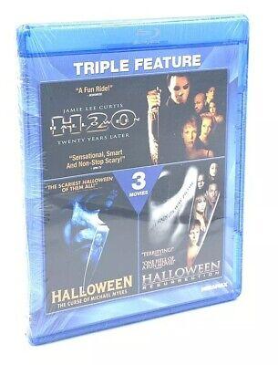 Halloween Triple Feature - Curse of Michael Myers / H20 / Resurrection (Blu-ray)](Michael Myers Halloween Resurrection)