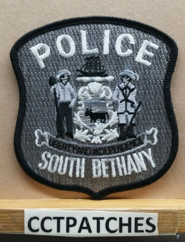 SOUTH BETHANY, DELAWARE POLICE SUBDUED SHOULDER PATCH DE