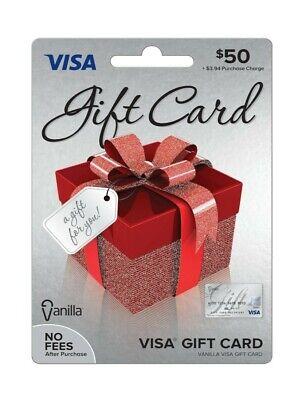 Vanilla Gift card $50 use everywhere New.