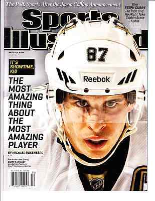 May 13, 2013 Sidney Crosby Pittsburgh Penguins Sports Illustrated NO LABEL A