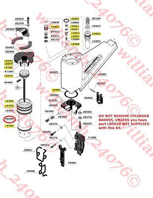 Senco Sn2 Snii Framing Nailer O Ring Kit