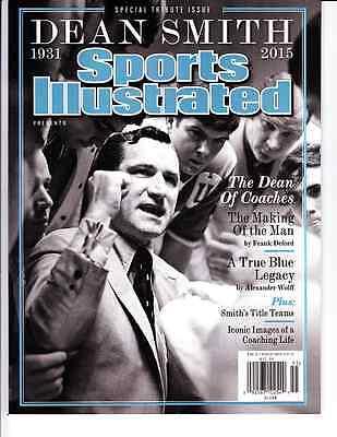 2015 Dean Smith UNC North Carolina Tar Heels Sports Illustrated Special Tribute
