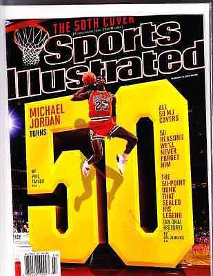 February 18, 2013 Michael Jordan 50 Chicago Bulls Sports Illustrated NO LABEL A